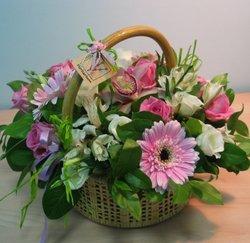 Цветочные корзины 109