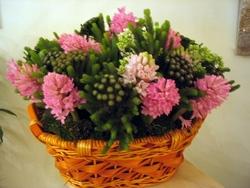 Цветочные корзины 126
