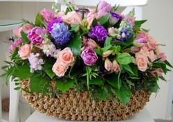 Цветочные корзины 132