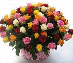 Цветочные корзины 156