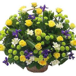 Цветочные корзины 158