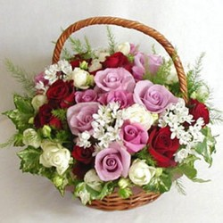 Цветочные корзины 164