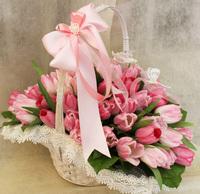 Цветочные корзины 73