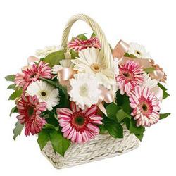 Цветочные корзины 74