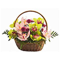 Цветочные корзины 50