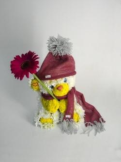 Зверюшки из цветов И-57