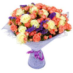 закажи букет свежих цветов....и получи постоянную скидку -35% .....на все покупки.....( скидка бессрочна) New-81