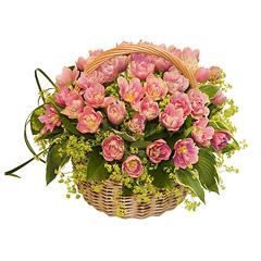 Цветочные корзины 5