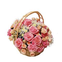 Цветочные корзины 19