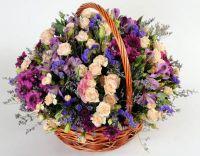 Цветочные корзины 18