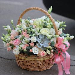Цветочные корзины 166