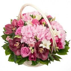 Цветочные корзины 168